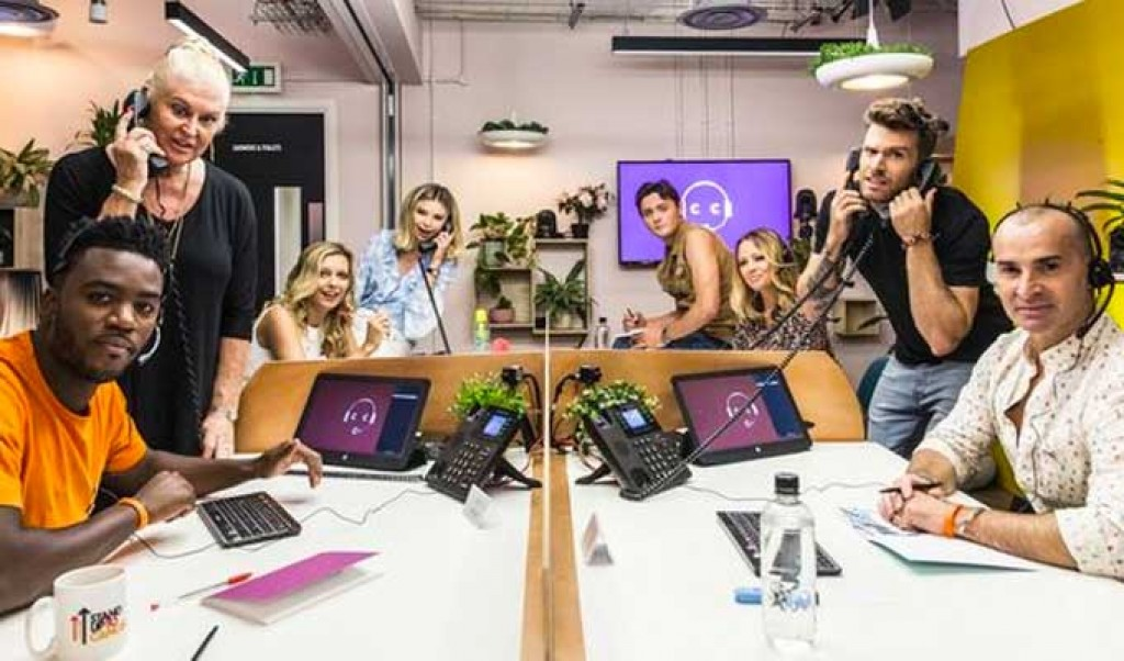 Comics sign up to Celebrity Call Centre
