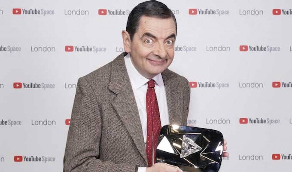 Mr Bean hits 10million YouTube subscribers